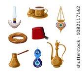 turkish traditional heritage... | Shutterstock .eps vector #1082117162