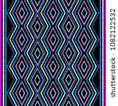 embroidery geometric vector... | Shutterstock .eps vector #1082122532
