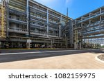 large and shiney  oil and gas... | Shutterstock . vector #1082159975
