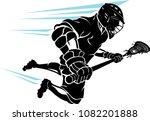 lacrosse super charge leap | Shutterstock .eps vector #1082201888