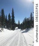 beautiful winter day in... | Shutterstock . vector #1082221916