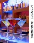 cocktail drinks on a bar ... | Shutterstock . vector #10822264