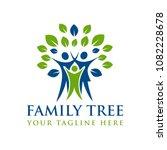 family tree creative concept... | Shutterstock .eps vector #1082228678
