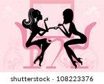 beauty salon  manicure | Shutterstock .eps vector #108223376