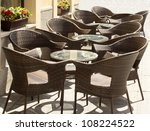tables and chairs in the... | Shutterstock . vector #108224522