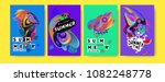 vector colorful summer tropical ... | Shutterstock .eps vector #1082248778