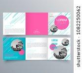 brochure design  brochure... | Shutterstock .eps vector #1082250062