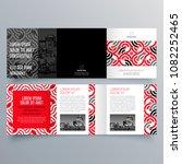 brochure design  brochure... | Shutterstock .eps vector #1082252465