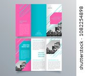 brochure design  brochure... | Shutterstock .eps vector #1082254898