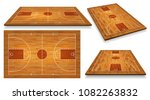 set perspective basketball... | Shutterstock .eps vector #1082263832