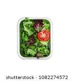 fresh detox salad. salad in a... | Shutterstock . vector #1082274572
