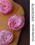 close up sweet meringues... | Shutterstock . vector #1082303978