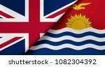 flag of great britain and... | Shutterstock . vector #1082304392