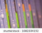led audio signal level on... | Shutterstock . vector #1082334152