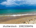 beautiful beach and tropical sea | Shutterstock . vector #1082338496