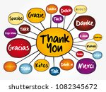 thank you in different... | Shutterstock .eps vector #1082345672
