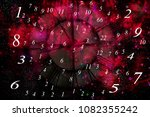 space and numerology world | Shutterstock . vector #1082355242