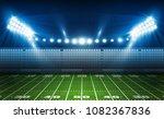 american football arena field... | Shutterstock .eps vector #1082367836