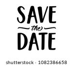 save the date word text art... | Shutterstock .eps vector #1082386658