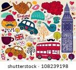 Vector Set Of London Symbols...