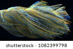 fiber optic cables. 3d... | Shutterstock . vector #1082399798