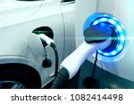 power supply connect to... | Shutterstock . vector #1082414498