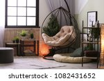 modern living room interior... | Shutterstock . vector #1082431652