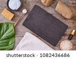 aromatherapy  bath salt ...   Shutterstock . vector #1082436686