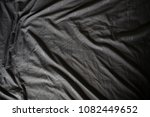 bed sheet used at morning time | Shutterstock . vector #1082449652