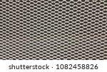 steel plate mesh surface  ... | Shutterstock . vector #1082458826