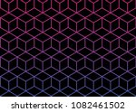 abstract geometric pattern with ... | Shutterstock .eps vector #1082461502