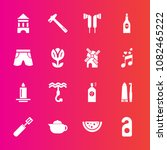 premium set with fill vector... | Shutterstock .eps vector #1082465222