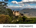 the three sisters and mount... | Shutterstock . vector #1082468492