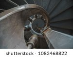old wooden staircase shaping a...   Shutterstock . vector #1082468822