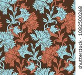 elegance seamless pattern with...   Shutterstock .eps vector #1082500268