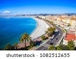 nice  france  on march 9  2018. ... | Shutterstock . vector #1082512655