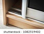 wardrobe with sliding doors and ... | Shutterstock . vector #1082519402