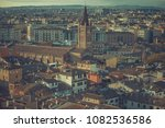 old medieval roman city from... | Shutterstock . vector #1082536586