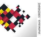 abstract vector background with ... | Shutterstock .eps vector #1082540642