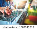 accurate diagnosis appropriate... | Shutterstock . vector #1082549315