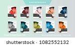 abstract vector business...   Shutterstock .eps vector #1082552132
