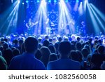 the audience watching the... | Shutterstock . vector #1082560058