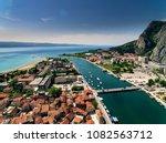 stunning aerial shot of omis... | Shutterstock . vector #1082563712