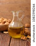 Small photo of walnut oil in bottle