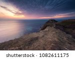 amazing sunrise view of the... | Shutterstock . vector #1082611175