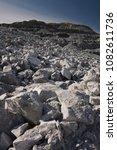 destroyed rocks after the...   Shutterstock . vector #1082611736