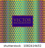 colorful and gold vector...   Shutterstock .eps vector #1082614652