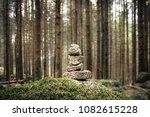 stones in equilibrium  pile of... | Shutterstock . vector #1082615228