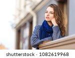 girl is waiting for date... | Shutterstock . vector #1082619968