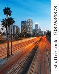 city of los angeles california... | Shutterstock . vector #1082634878